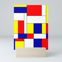 Mondrian #37 Mini Art Print