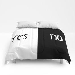 Yes/No Comforters