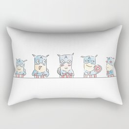 Captain A-Joy! Rectangular Pillow
