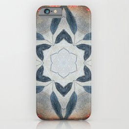 Bushfire Gum Medallion 13 iPhone Case