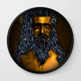 Holy Poseidon Wall Clock