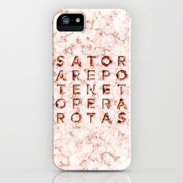 SATOR  AREPO  TENET  OPERA  ROTAS - Magic Spell iPhone Case