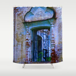 Window The Ensemble of the Monastery of Deposition of the Robe (16th - 20th centuries) Shower Curtain