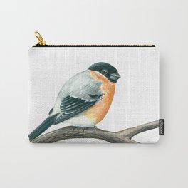 Bullfinch bird Carry-All Pouch