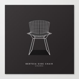 Bertoia Side Chair - Harry Bertoia Canvas Print