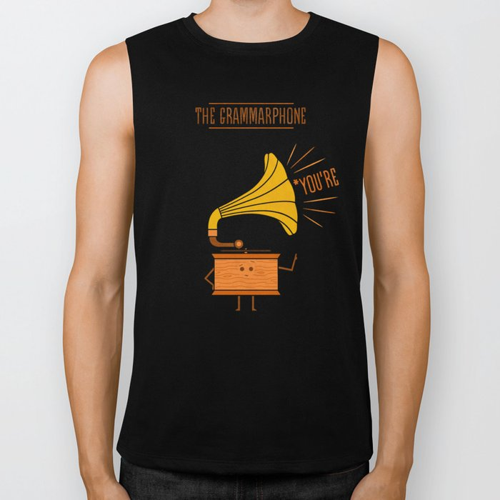 Grammarphone Biker Tank