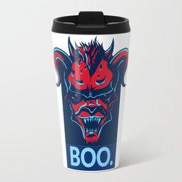 Boo. Demon Travel Mug