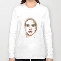 lana Long Sleeve T-shirts featuring Lana  by Ami Leigh Barrett
