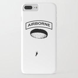 Airborne Jump Paratrooper iPhone Case