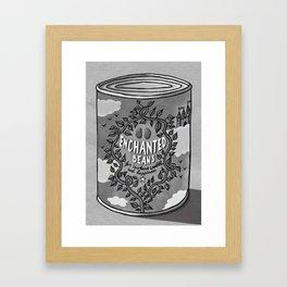 enchanted beans Framed Art Print