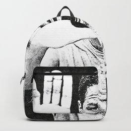 Denzel Hayes Washington Jr. - Society6 Online Movie Star - Actor - Hands Up Backpack