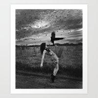 divergent Art Prints featuring Divergent by Stephanie Massaro