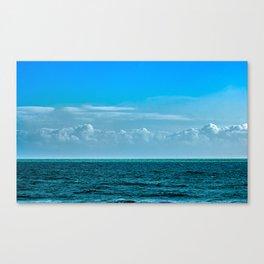 Cloudy Blue Sky Canvas Print