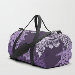 VIOLET FLORAL SYMPHONY Duffle Bag