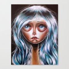 Wisp :: Pretty Little Scamp Pop Surrealism Canvas Print
