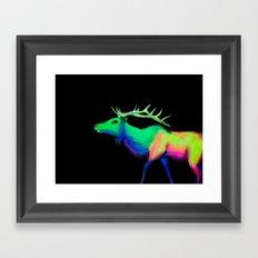 Elk #7 Framed Art Print