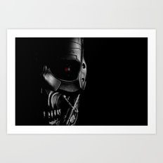 Endoskeleton Art Print