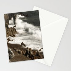 Ocean Waves and Rocks Stationery Cards