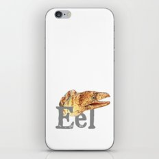 E is for Eel iPhone Skin