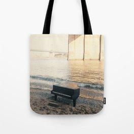 east river piano Tote Bag
