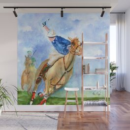 Polo Player Wall Mural