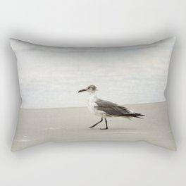 Seagull Stroll Rectangular Pillow
