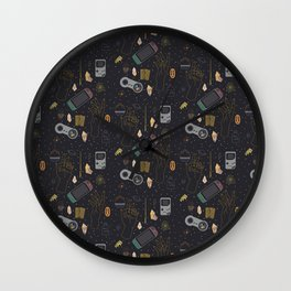 Gamer Witch Starter Kit Wall Clock