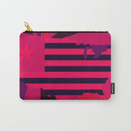 Love stops Hate 1 - USA in Pink 2017 Carry-All Pouch