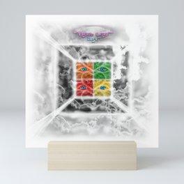 """Beez Lee Art : Square the Focus With Light"" Mini Art Print"