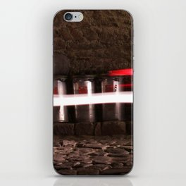 Trash cans iPhone Skin