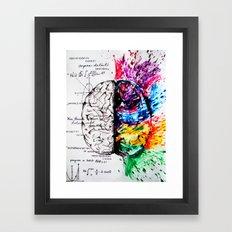 Conjoined Dichotomy Framed Art Print