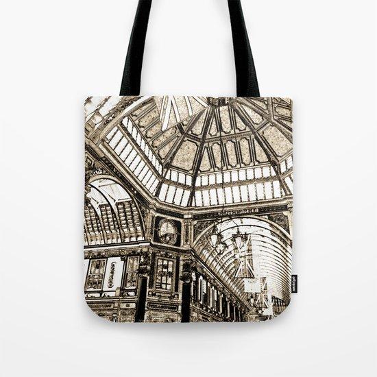 Leadenhall Market London Tote Bag