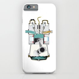 Induction Stroke iPhone Case