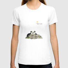 Panda - Make a wish T-shirt