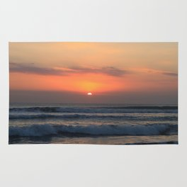 Tropical sunset Rug