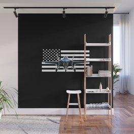 F-35 (Black Flag) Wall Mural