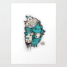 Ist Das Kunst? Art Print