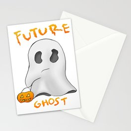 We are all future ghosts Stationery Cards