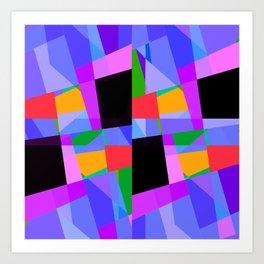 suprematic composition N2 Art Print