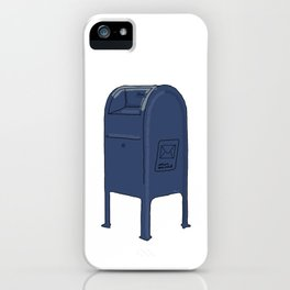 Save The Mail iPhone Case