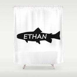 Ethan Fish Shower Curtain