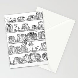 Bookshelf! Stationery Cards