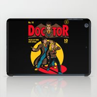 comic iPad Cases featuring Doctor Comic by harebrained