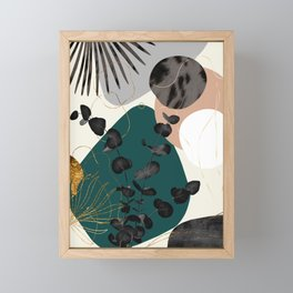 Eucalyptus Fan Palm Finesse #6 #tropical #decor #art #society6 Framed Mini Art Print