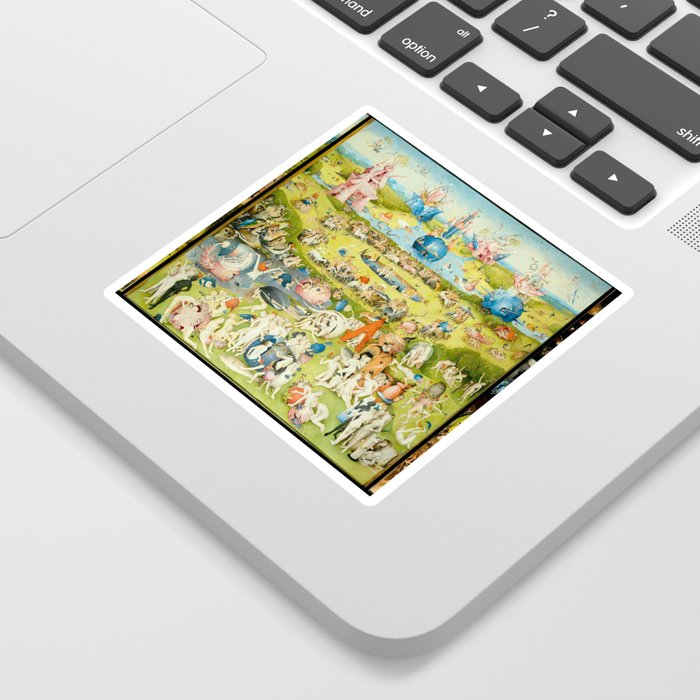 The Garden of Earthly Delights by Bosch Sticker