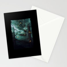 In the Woods Tonight Stationery Cards
