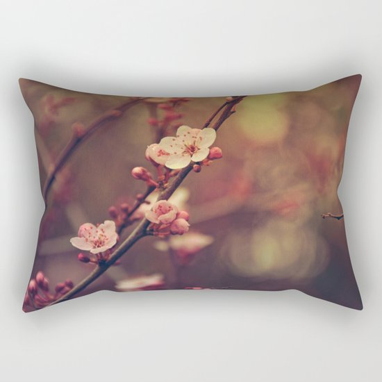 Beauty of Cherry Blossom Rectangular Pillow