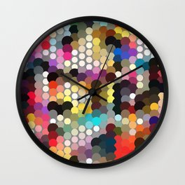 Forest of dots gg Wall Clock