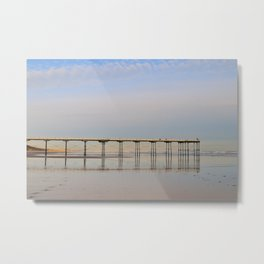 Saltburn by the Sea Metal Print