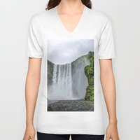 iceland V-neck T-shirts featuring Intrepid Iceland by Alex Tonetti Photography